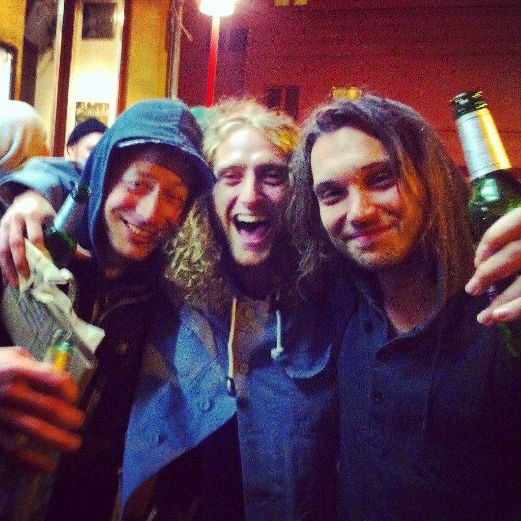 Transkontinental amigos: Quirin Obermaier, Daniel Lutheran, Lucas Fiederling