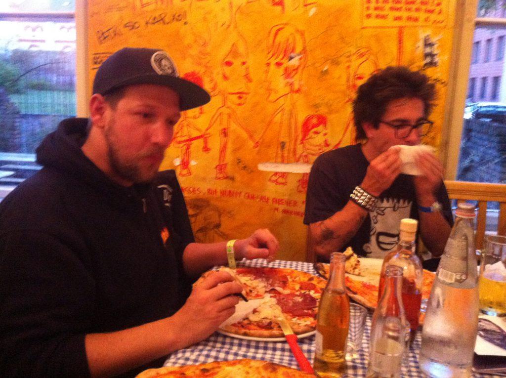 right on, ride on: Leif und TNT lassen's sich gutgehn