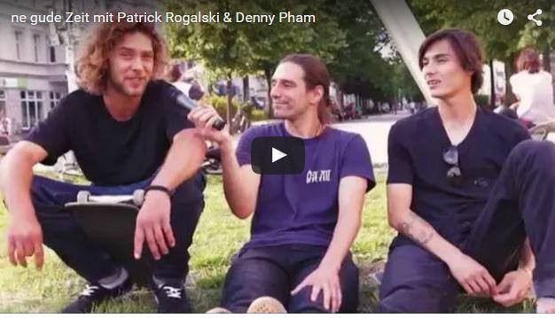 Mit Patrick Rogalski und Denny Pham an den Warschauer Bänken