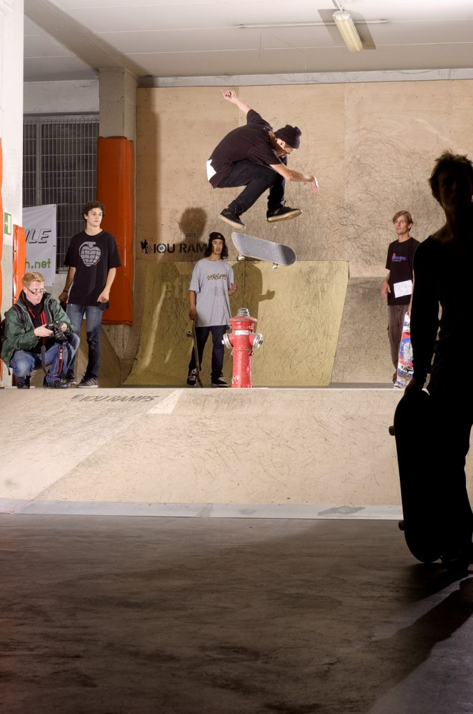 Marco Kada beim Beatboard 2012