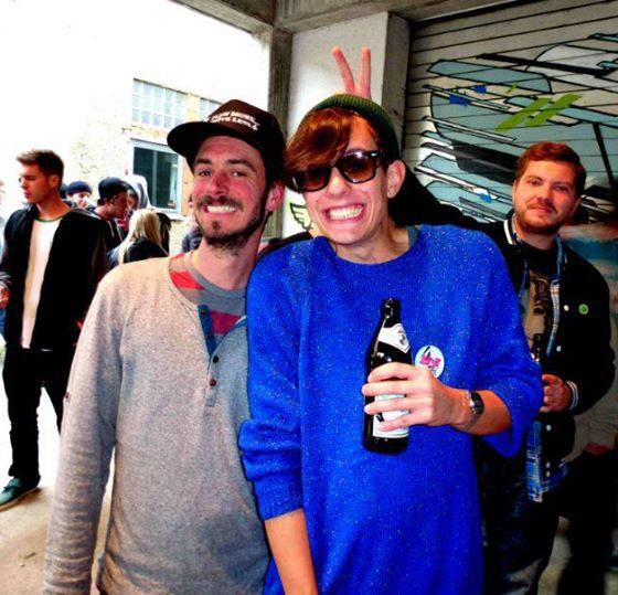 10. Beatboard Skate Contest in Pfaffenhofen mit TC aka Matthias Stadtler und DJ Zylla