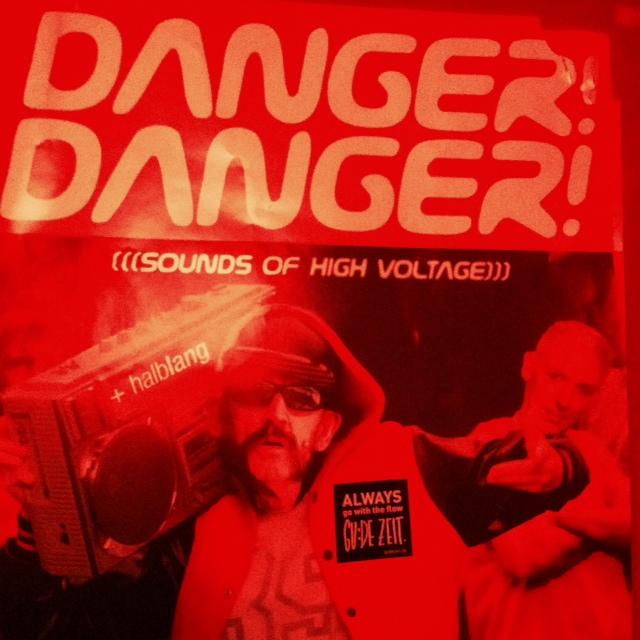 danger Danger Plakat in der Kleine Freiheit Osnabrück