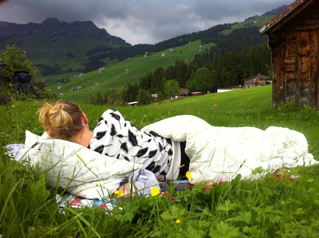 Heheherrlich: Sweetsnini und die Schweizer Bergkulisse