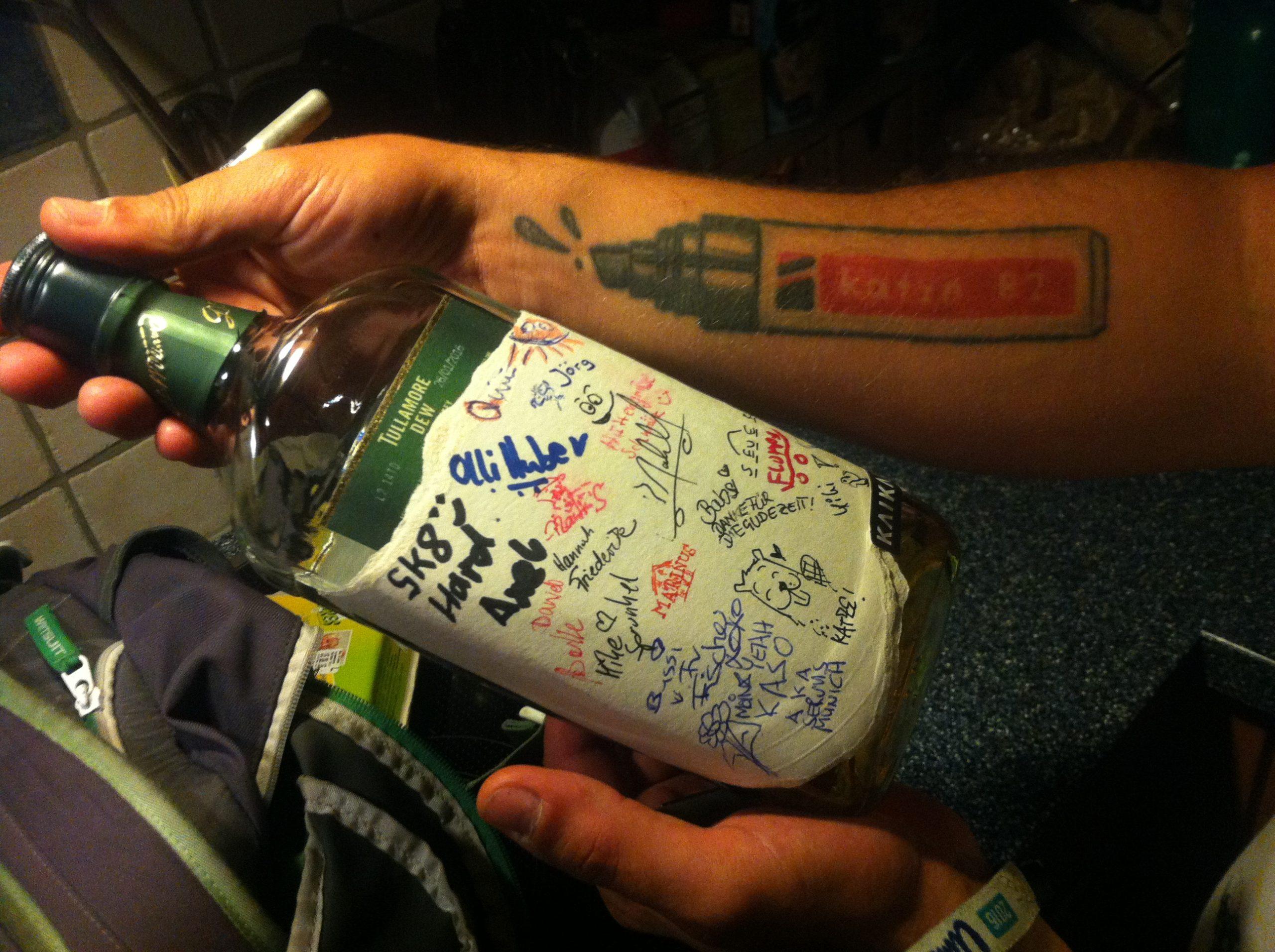 Tullamore DEW whiskey