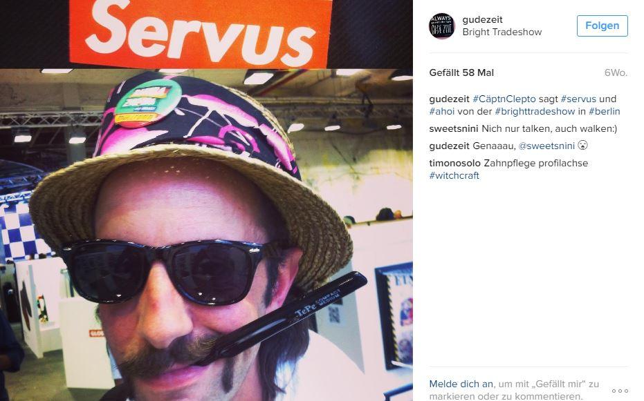 Cäptn Clepto auf der bright tradeshow in berlin