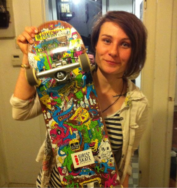Kingdrips Deck x Girls Skate Sticker