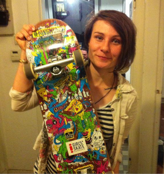 Kingdrips Deck x Girls Skate Sticker