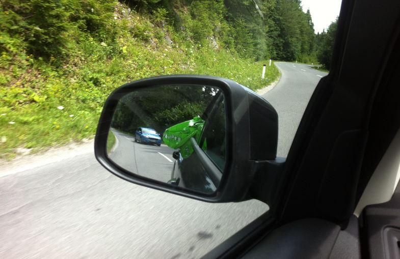 Aufm Weg nach Ljubljana genießt Sascha Ewests Schnappi die frische Bergdorfluft!