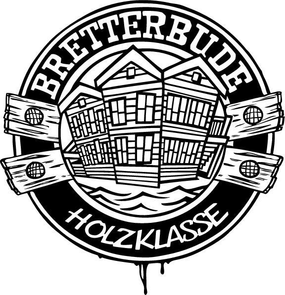Das Bretterbude Logo - hat und kann was