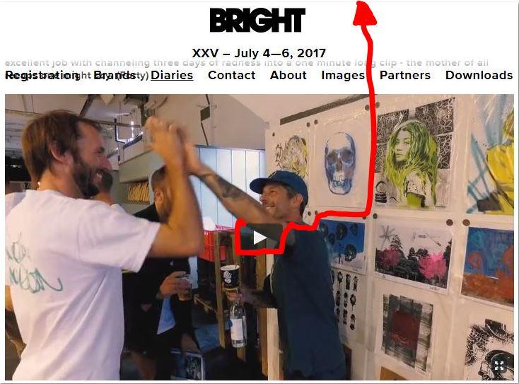 Thomas Marecki aka Marok and Mark Oblow at the BRIGHT tradeshow Berlin summer 2017