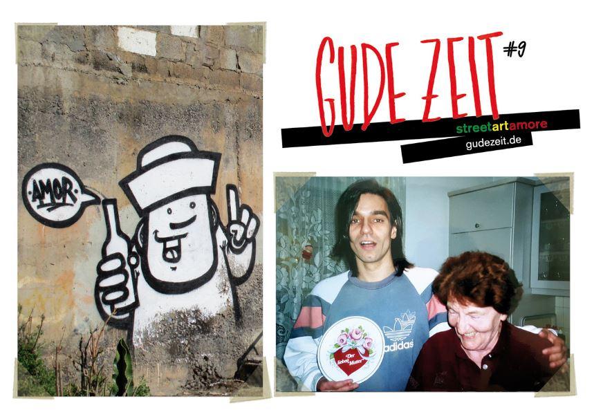 Gude Zeit #9 Cover-Collabo mit Rebelzer, meiner Mom und ihrem dankbaren Sohn