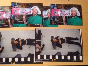 Insgesamt 8 Postkarten in 2 verschiedenen Größen